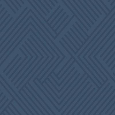 """RoomMates 28.2"""" Perplexing P&S Wallpaper Blue"""