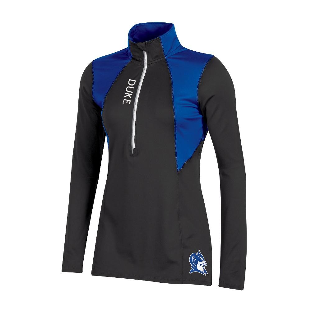 Duke Blue Devils Women's Long Sleeve 1/2 Zip Performance Sweatshirt - S, Multicolored