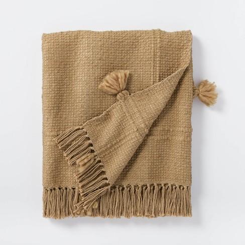 Woven Cotton Acrylic Throw Blanket - Threshold™ designed with Studio McGee - image 1 of 4