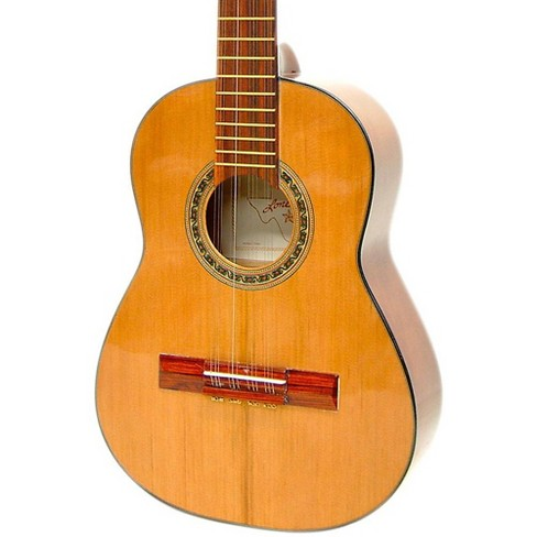 Paracho Elite Guitars Columbian Tiple 12-String Classical Acoustic Guitar Natural - image 1 of 2