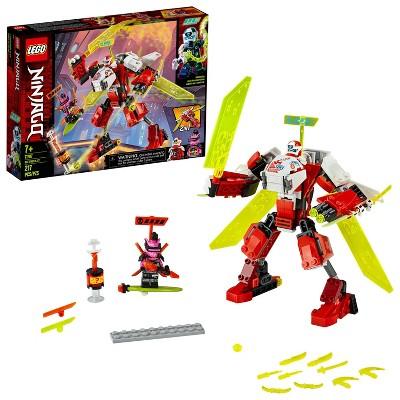 LEGO NINJAGO Kai's Mech Jet Toy Plane Building Kit 71707