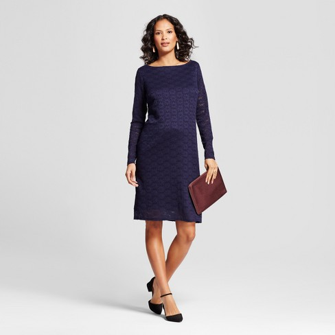 c20f5673ea3ff Maternity Lace Dress - Isabel Maternity By Ingrid & Isabel™ Navy M ...