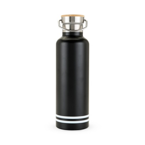 true 25oz Double Walled - Stainless Steel - Portable Water Bottle - Black - image 1 of 1