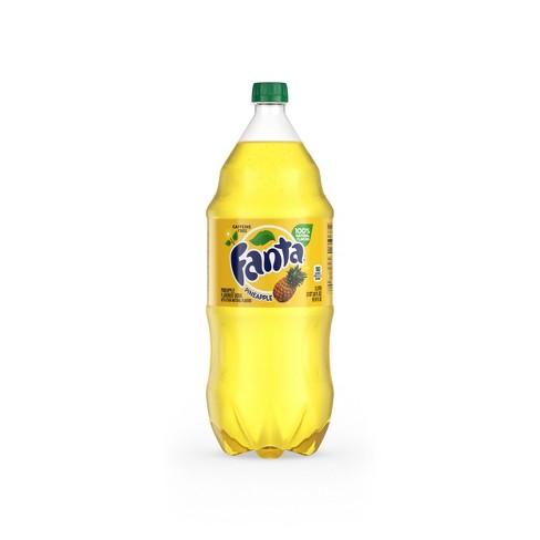 Fanta Pineapple Soda - 2 L Bottle - image 1 of 4