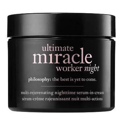philosophy Ultimate Miracle Worker Night Cream - 2 fl oz - Ulta Beauty