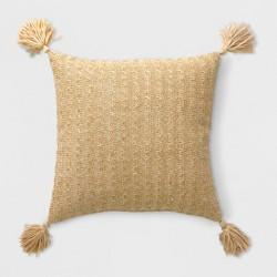 Tassel Outdoor Pillow Gold - Opalhouse™