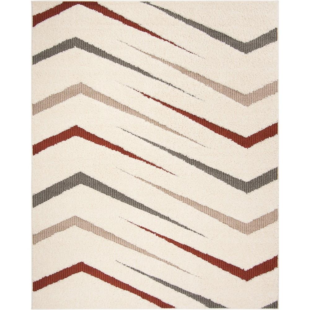 9'X12' Geometric Loomed Area Rug Cream - Safavieh, Beige
