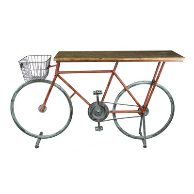Bicycle Console Table - Sagebrook Home