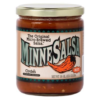 Clyde's MinneSalsa Hot Salsa - 16oz