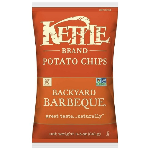 Kettle Backyard Barbeque Potato Chips - 8.5oz - image 1 of 4