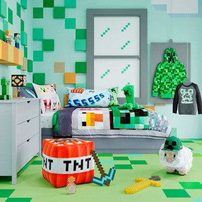 Minecraft Kids\' Bedroom Collection : Target