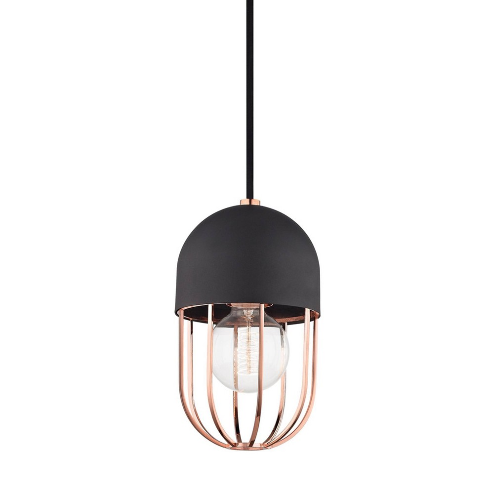Haley 1-Light Pendant Chandelier Polished Copper - Mitzi by Hudson Valley Coupons