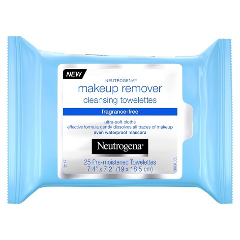 Unscented Neutrogena Cleansing Makeup Remover Cleansing Towelettes - 25ct : Target