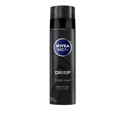 Shaving Creams & Gels: Nivea Men Deep Clean Shave