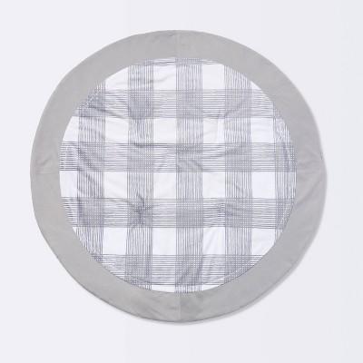 Activity Circle Playmat Homespun - Cloud Island™ Gray Foggy Day