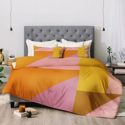 June Journal Shapes in Vintage Modern Comforter Set - Deny Designs