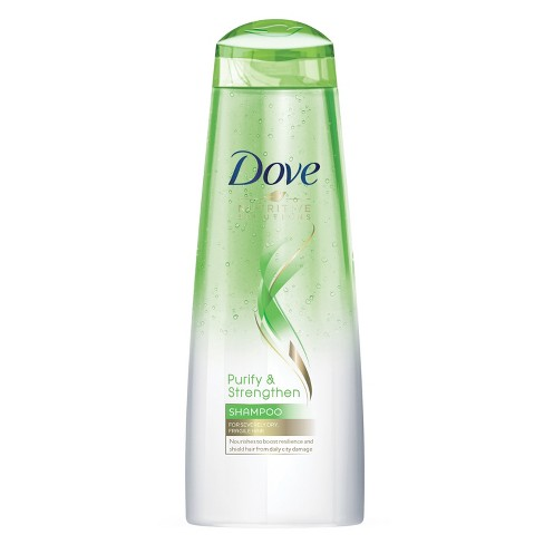 Dove Beauty Nutritive Solutions Purify & Strengthen Shampoo - 12 fl oz - image 1 of 5