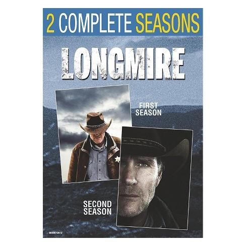 Longmire: Seasons 1 & 2 (DVD) - image 1 of 1