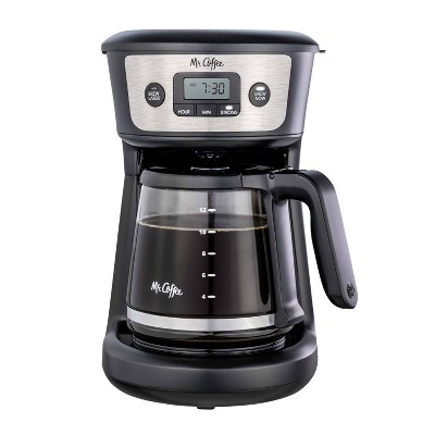 Mr. Coffee 12-Cup Programmable Coffee Maker - Black