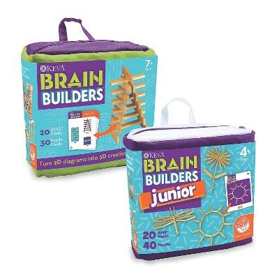 MindWare Keva Brain Builders And Brain Builders Junior: Set Of 2 - Building