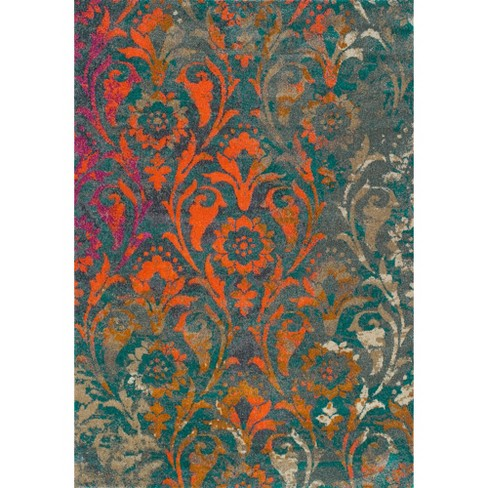 Prima Scroll Woven Rug - Addison Rugs - image 1 of 4