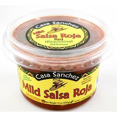 Casa Sanchez Mild Salsa Roja - 15oz