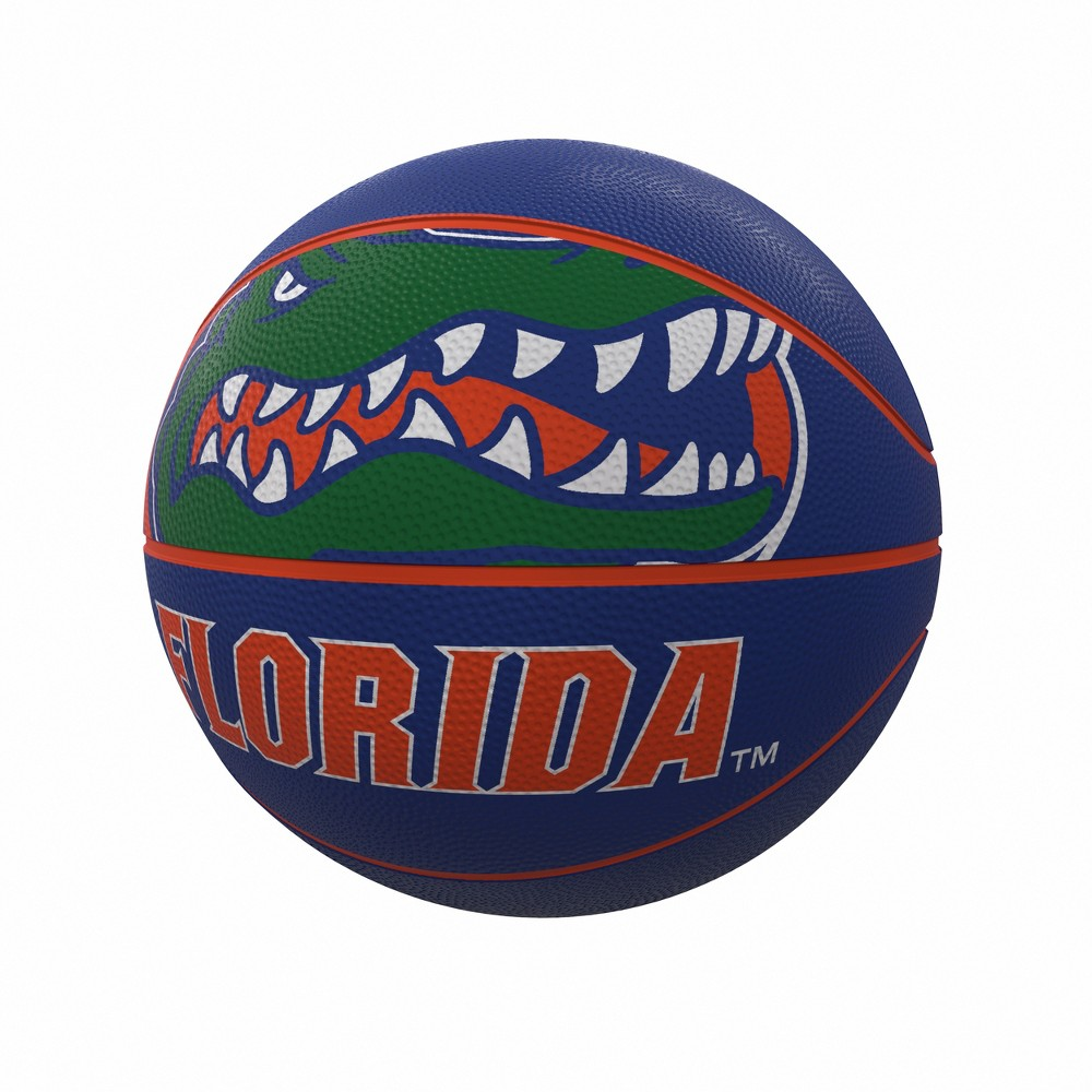 NCAA Florida Gators Mascot Official-Size Rubber Basketball