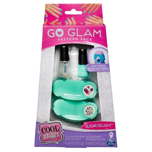 cool maker go glam pattern pack refill nail fashion kit
