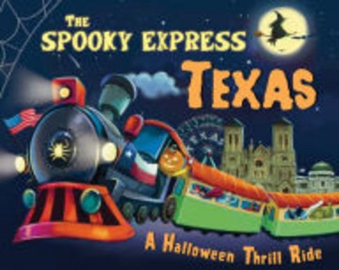 Spooky Express Texas -  by Eric James (Hardcover) - image 1 of 1