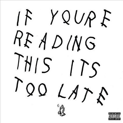 Drake - If You're Reading This It's Too Late (Vinyl) - image 1 of 1