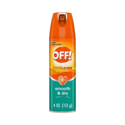 OFF! FamilyCare Smooth & Dry Insect Repellent I - 4oz/1ct