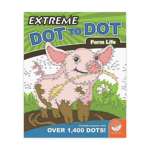MindWare Extreme Dot To Dot: Farm Life - Brainteasers - image 1 of 2
