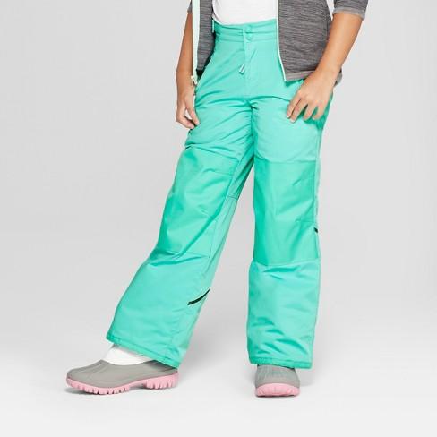 1e3236556565 Girls  Snow Pants - C9 Champion® Teal   Target