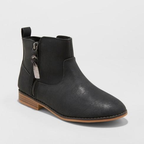 1399cdf892c Girls  Asha Western Ankle Boots - Cat   Jack™   Target