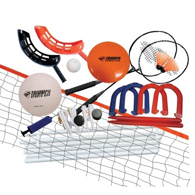 Triumph 5-in-1 Volleyball / Badminton Game Combo