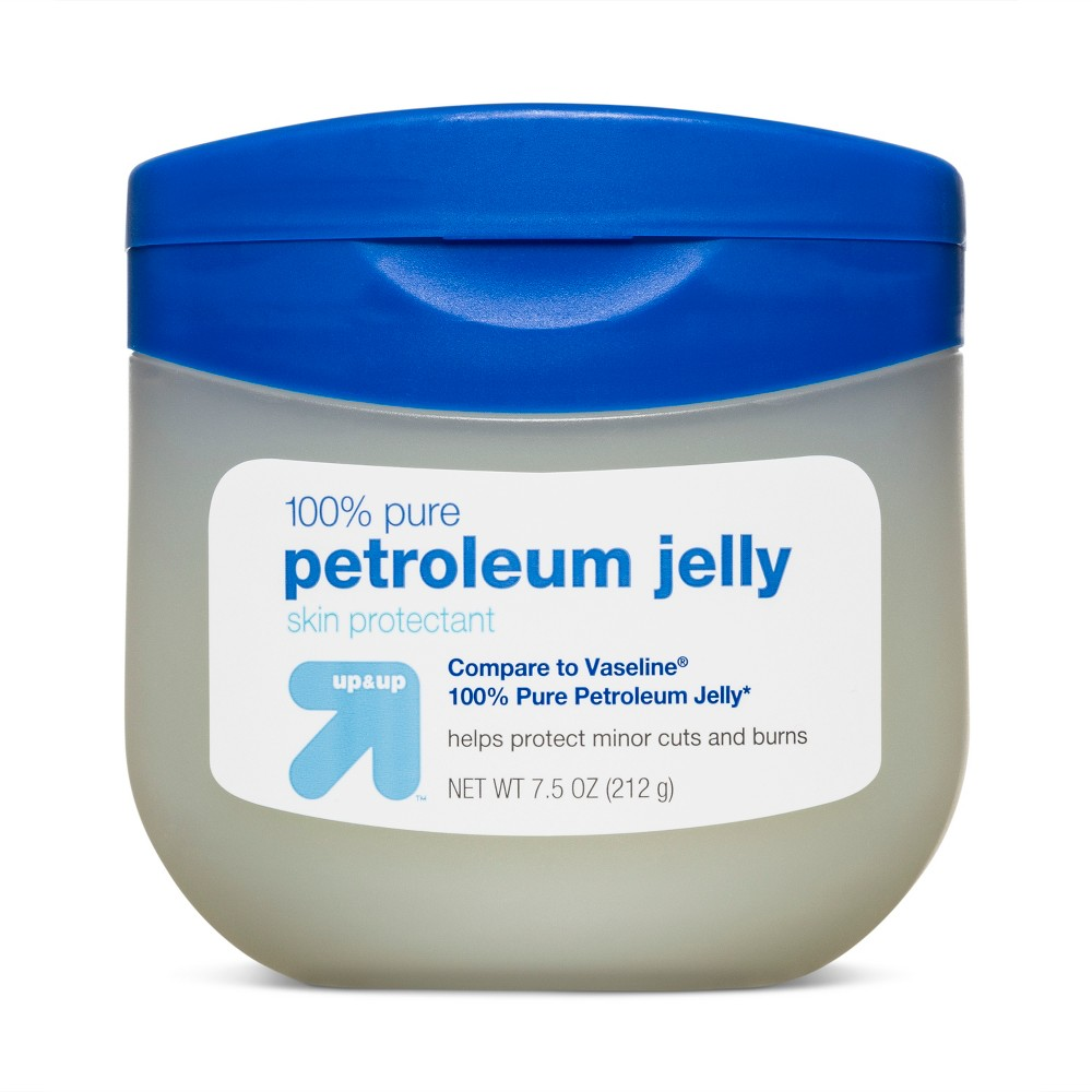 100% Pure Petroleum Jelly 7.5oz - Up&Up (Compare to Vaseline 100% Pure Petroleum Jelly)