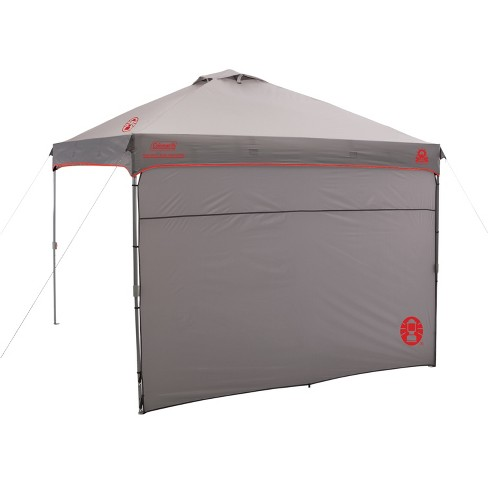 Coleman Instant Canopy With Sunwall 10x10 Gray Target