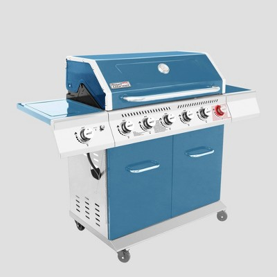 Royal Gourmet 6-Burner Gas Grill GA6402B Blue