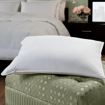 50/50 White Goose Feather Blend Hotel Pillow Queen - DOWNLITE