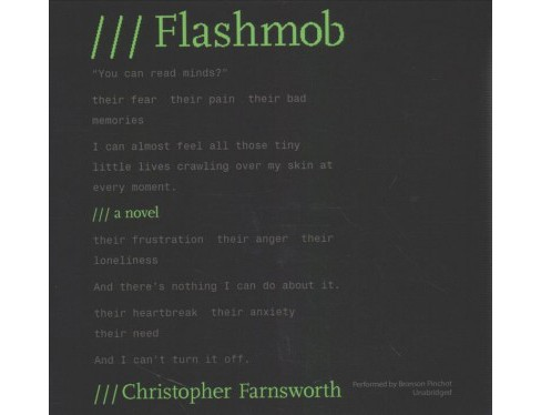 Flashmob : Library Edition (Unabridged) (CD/Spoken Word) (Christopher Farnsworth) - image 1 of 1
