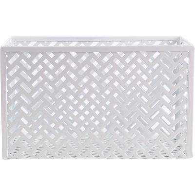 Staples Metal Storage/Document Box White (26845) 1116753