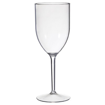 CreativeWare Set of 8 Wine Glasses 12oz Acrylic