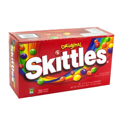 Skittles Original Bite Size Candies - 2.17oz/36ct - image 1 of 3