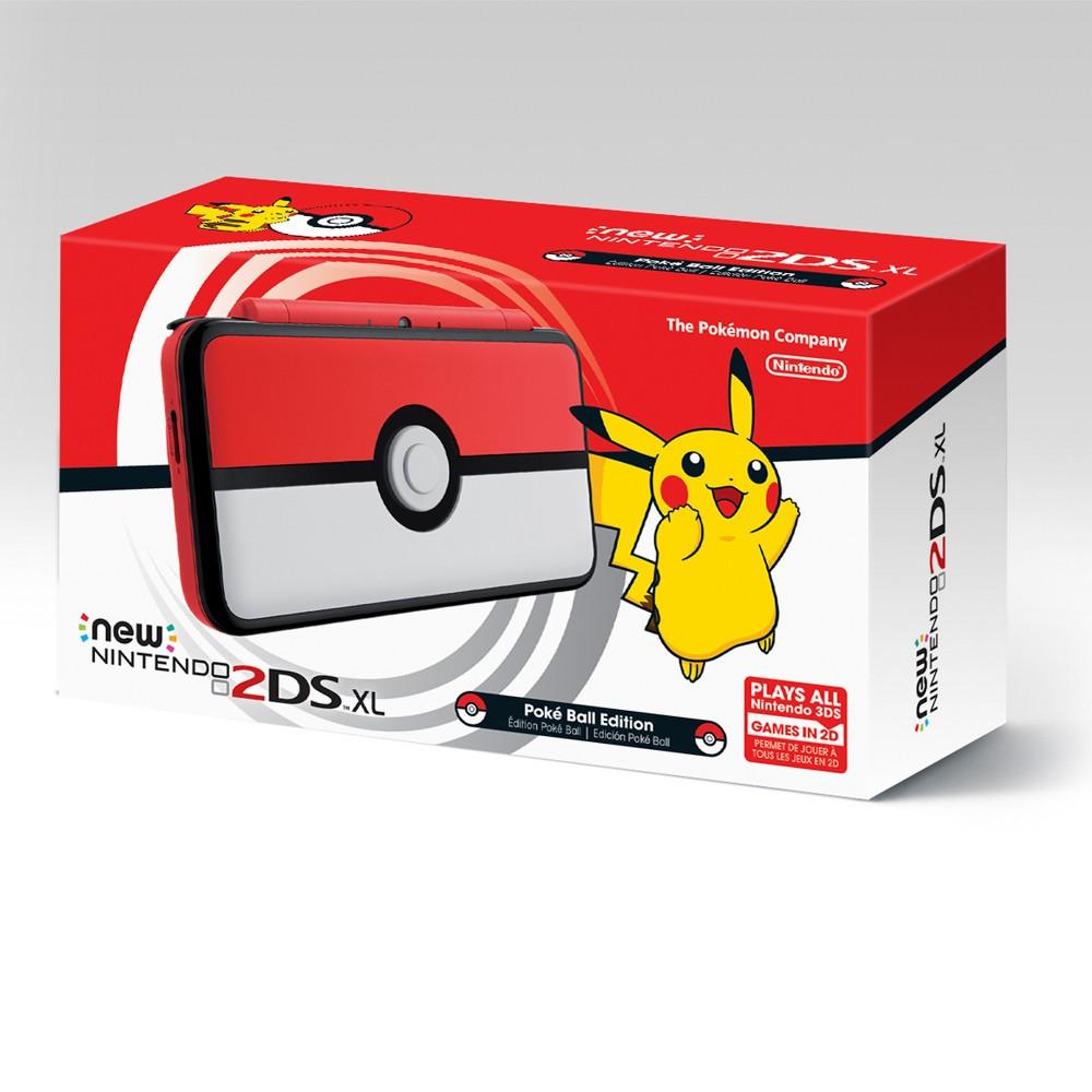 New Nintendo 2DS XL Poké Ball Edition, Black