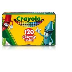 Crayola 120ct Crayon Set with Crayon Sharpener