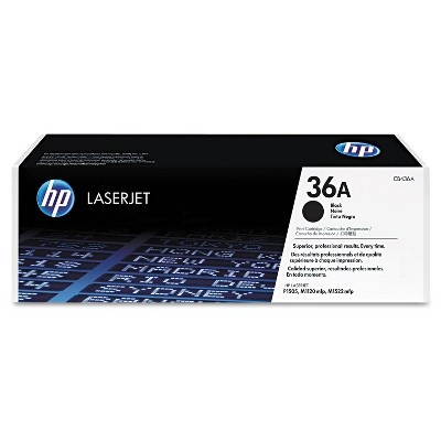 HP Inc. HP 36A (CB436A) Black Original LaserJet Toner Cartridge