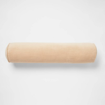 Cotton Velvet Bolster Throw Pillow - Threshold™