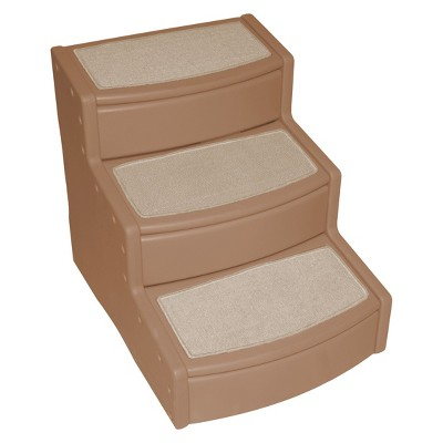 Pet Gear Easy Steps III Extra-Wide Pet Stair - Tan