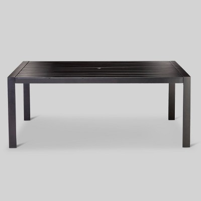 Standish Slat Top Rectangle Patio Dining Table - Project 62™