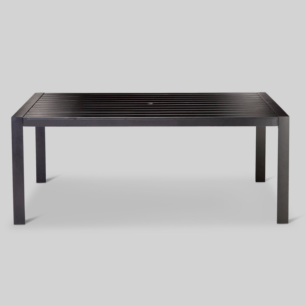 Standish Slat Top Rectangle Patio Dining Table Project 62 8482